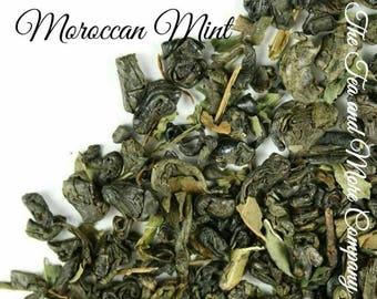 Moroccan Mint Tea... Loose Leaf Tea, Peppermint Tea, Green Tea, Mint Tea, Get Well Gift, Kosher