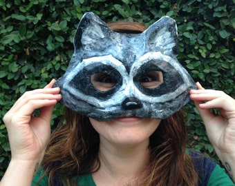 Woodland  Mask, Adult Mask, Paper Mache Mask