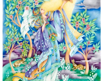 The Fairy Queen and the Nightingale