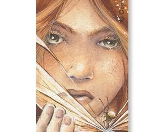 Marque-pages - La rencontre - Illustration Delphine GACHE