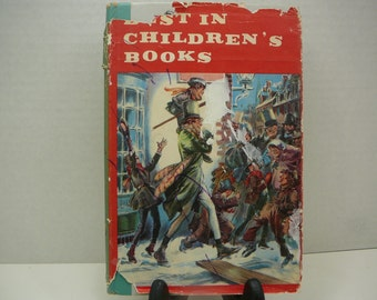 Best in Childrens Books, 1957, with dust jacket, vintage kids book