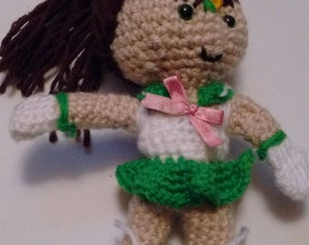 Sailor Jupiter Amigurumi