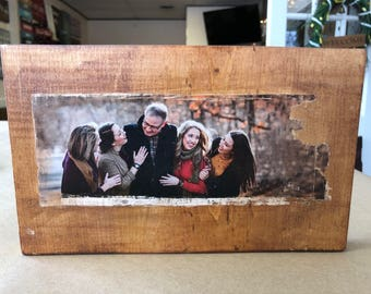 Personalized Photograph Transfer on Wood