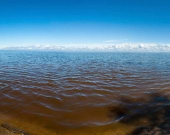 Lake, Lake Winnipeg, Summer, Sunny, Manitoba, photography, wall art, panorama