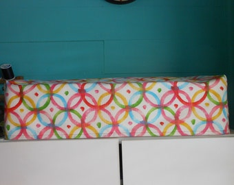"Multi-Color Circles Cricut ""Maker"" Cover, Handmade, Electronics Cover"