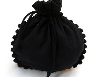 200 pcs black designer jewelry pouches small bags free shipping