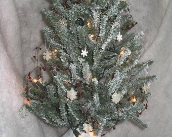 SIX SNOWMEN Gourd Tree E-Pattern