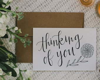 "Empathy 4""x6"" Greeting Card - Thinking of You"
