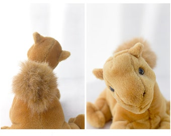 Squirrel Nursery Print Set, Stuffed Animal Wall Art, Nursery Decor
