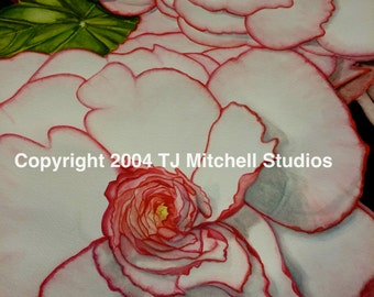 The Bloom of Spring #1 - Limited Edition Print of Original Watercolor by TJ Mitchell Studios
