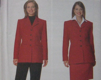 Butterick Jacket Skirt Pants Pattern 5198