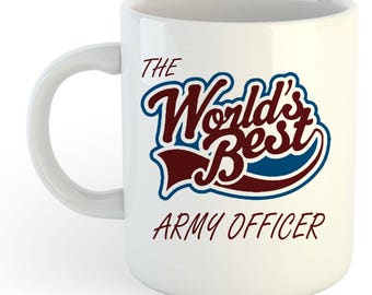 The Worlds Best Army Officer Mug
