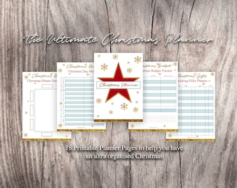 The Ultimate Christmas Planner Printable