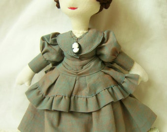 Edith, a Walldorf-inspired, Victorian dressed doll