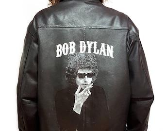 Bob Dylan Jacket // Collectors Item // Handpainted // Unisex