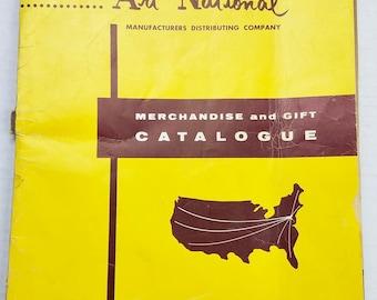 Art National Merchandise and Gift Catalog Advertising Fall Order Form Letter
