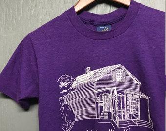 XS vtg 80s Schooley's Mountain New Jersey t shirt * mtn