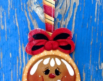 Holiday Ginger Spoon Ornament