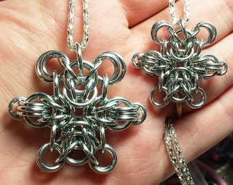 Chainmaille Teddy Bear Tutorial