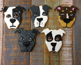 Customized Pitbull Treats