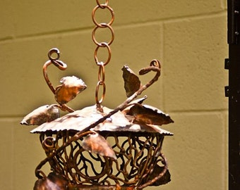 Copper Vine Bird House