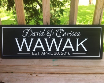 Wooden Signs, Last Name Sign, Custom Wood Sign, Wedding Gift, Wooden Signs Personalized, Housewarming Gift, Last Name Wood Sign, Name Sign