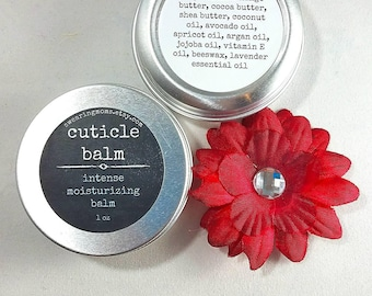 Cuticle balm , cuticle moisturizer, balm for nails, cuticle cream, all natural moisturizer, organic moisturizer, hydrating hand balm