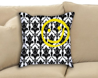Sherlock Holmes 221B Baker Street Wallpaper TV Show Fan Art Throw and Rectangle Pillow