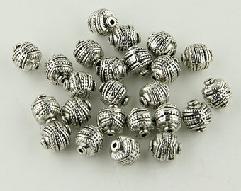 Antiqued Silver Beads -25- Beads