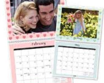 Personalized 12 month calendar