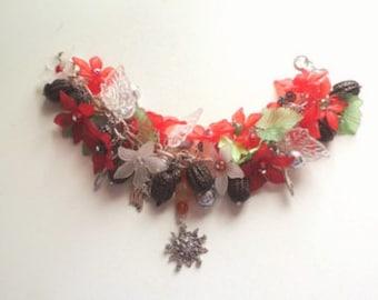 Return Of The Sun - Winter Solstice Yule Sabbat Celebration Bracelet
