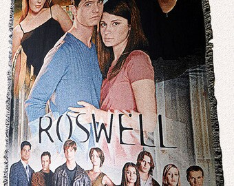 Roswell Inspired Cast Blanket