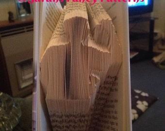 Half Price Sale - Darts Player - Book Folding Pattern