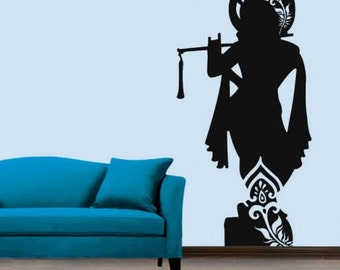 Lord Krishna Wall Decal