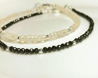 Zarte ein von einer Art Opal Edelsteine Armband-äthiopischer Welo Opal Edelsteinarmband
