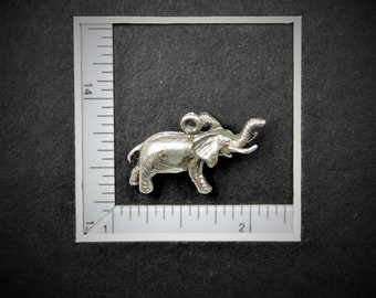 Elephant Sterling Silver Charm from StoryTeller Charms 655