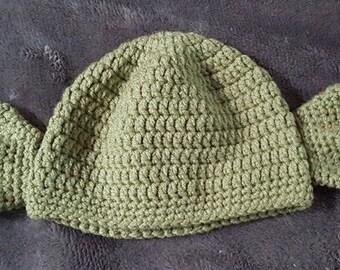 Crochet Yoda Beanie