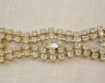 Brilliant Rhinestone vintage Bracelet