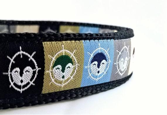 Alaskan Dog - Dog Collar / Adjustable / Large Dog Collar / Husky / Alaskan Malamute / Moon Mask / Alaska / Dog Collars