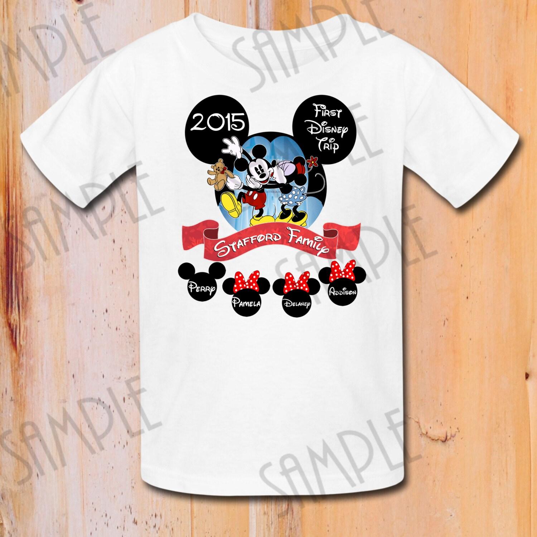 Custom Disney World Family Shirts Rldm