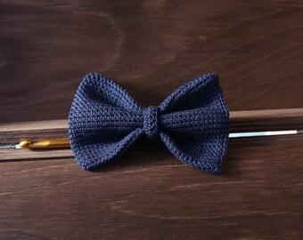 Blue Night bow tie