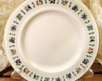 Royal Doulton Tapestry Pattern - Dinner Plate - Salad Plate - Saucer - England