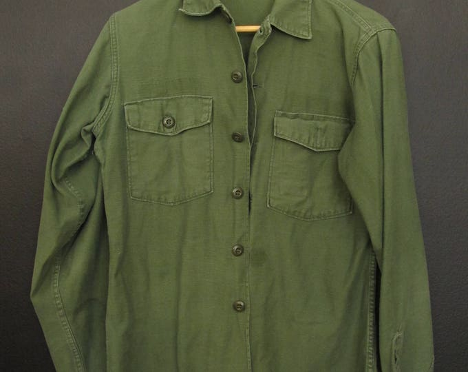 Vintage Army green Shirt
