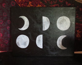 Phases of the Mooon