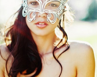 Muse leather mask  bridal