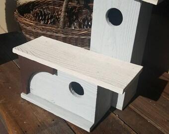 primitive wooden birdhouse,large bird house,handmade,outdoor birdhouse,unique birdhouse,garden decor,unique,outdoor bird house,modern garden