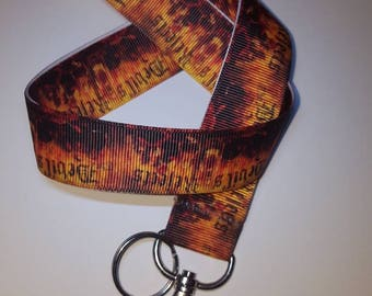 Lanyard inspired by Rob Zombie's The Devil's Rejects.