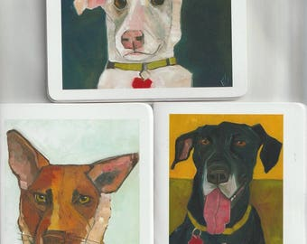 Memo Books Shelter Dogs Lot Of Three