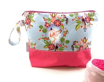 Mr Flamingo Project Bag