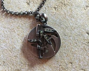 Metal Pendant, Metal Necklace, Southwest Jewelry, Southwest Pendant, Womens Jewelry, For Her